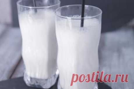 Молочный коктейль с коньяком