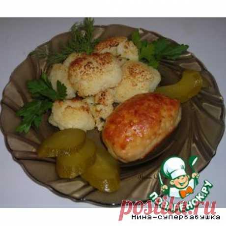 Куриные зразы с грибами и цветной капустой – кулинарный рецепт