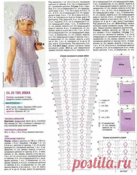 платье для девочки 5 лет крючком схема и описание: 2 тыс изображений найдено в Яндекс.Картинках