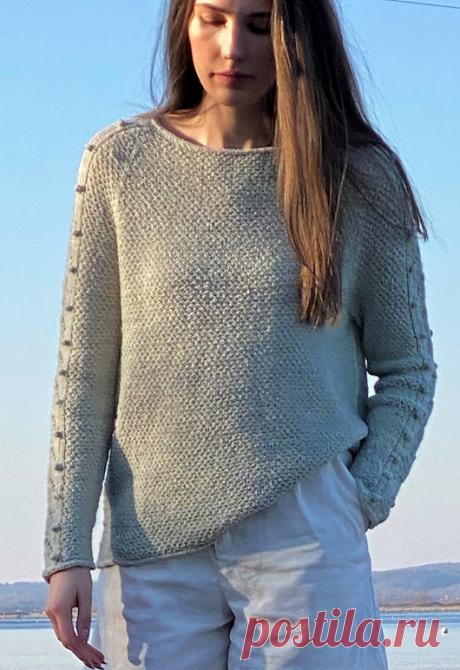 Вязаный пуловер Sandtoppe   ДОМОСЕДКА