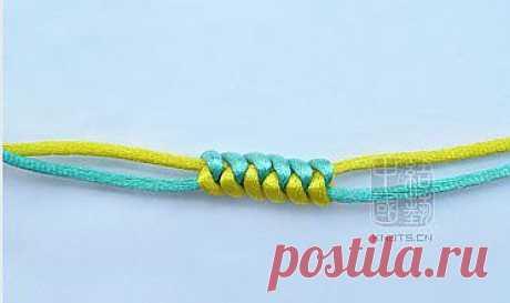 Плетеный декоративный шнур -для ручек сумки,поясов ,как украшение