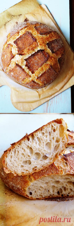 Вермонсткий хлеб/ Vermont Sourdough (Хамельман) - lenkazhestyanka