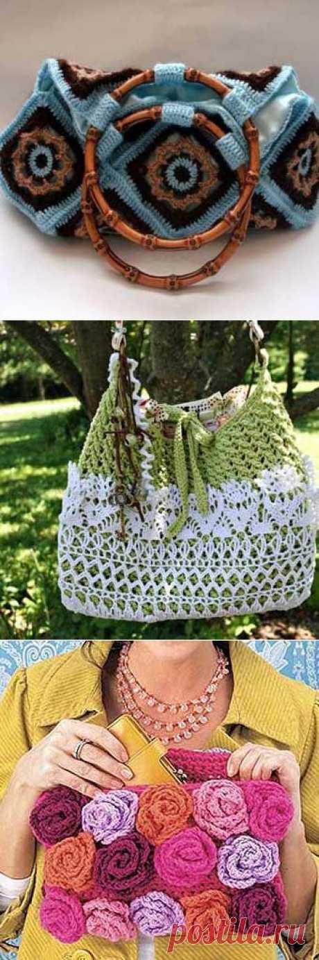 Вязаные сумки своими руками: 30 красивых идей | Самоделкино