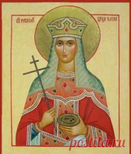 El icono de la Santa Elena en que ayuda