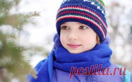 Как защитить ребенка зимой от простуды? / Малютка