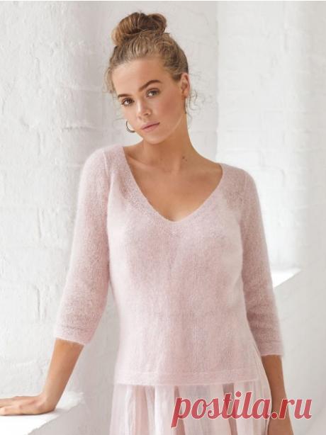 Милый и стильный пуловер для создания нежного образа из коллекции Haze.