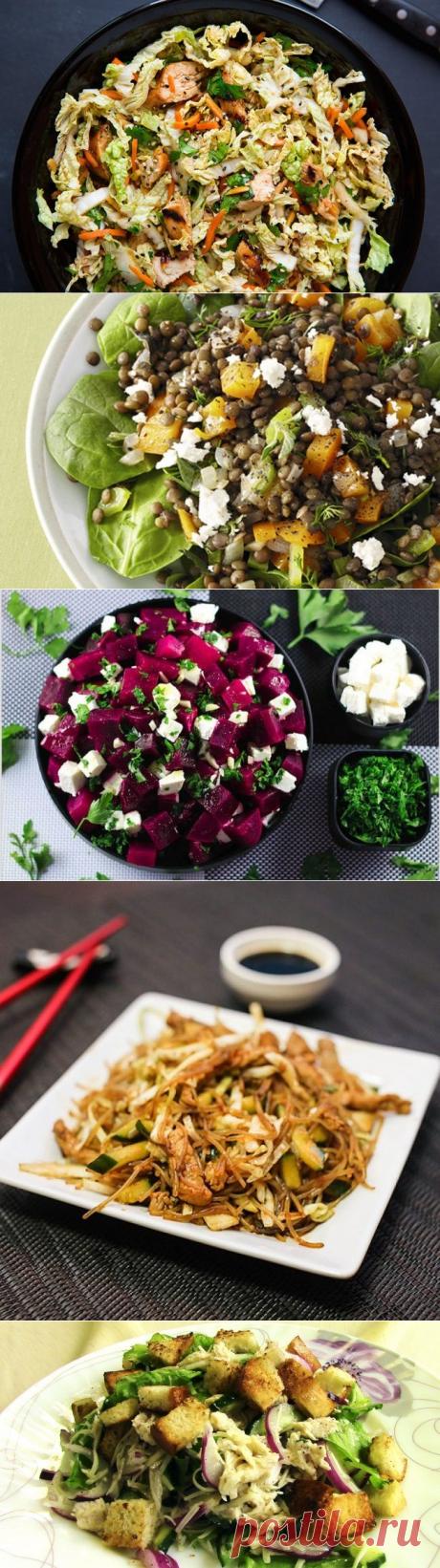 7 очень вкусных и лёгких салатов