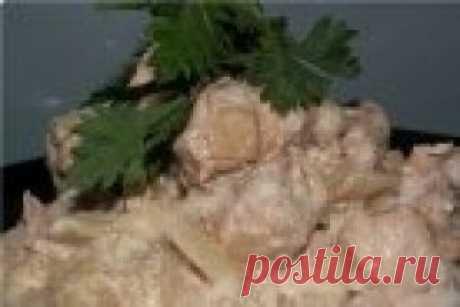Телятина со сметаной - пошаговый рецепт с фото на Повар.ру