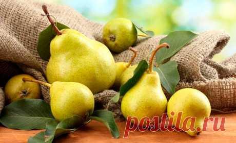 Домашний доктор. Груша — незаменимый фрукт для диабетиков