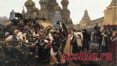 «Утро стрелецкой казни»: как Петр I устроил на Красной площади кровавую баню