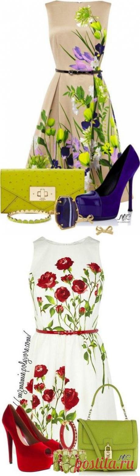 Как насчет платья с цветочным принтом? — Модно / Nemodno