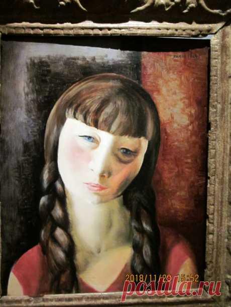 """Моис Кислинг. """"Женский портрет"""", 1924... / Искусство / Портрет / Pinme.ru"""