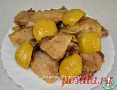 Утка с яблоками в мультиварке – кулинарный рецепт