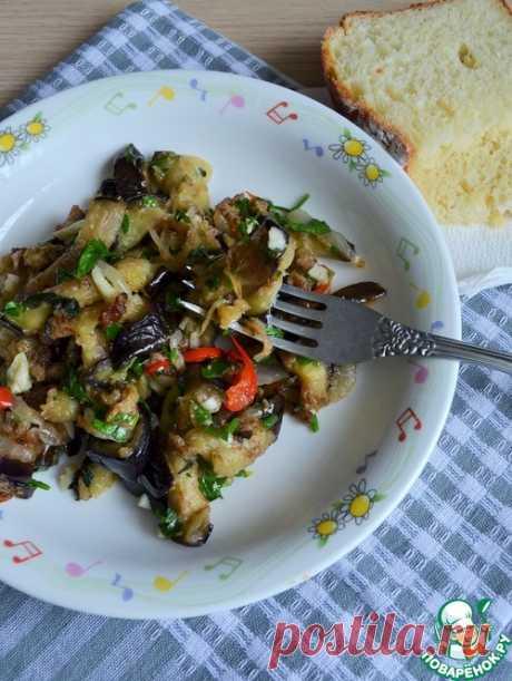 Баклажаны жареные - кулинарный рецепт