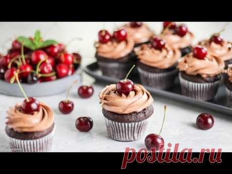 КАПКЕЙКИ Вишня-Шоколад ✶ Просто, быстро, вкусно