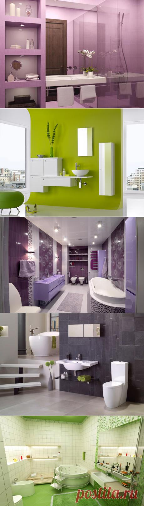 Каким цветом сделать ванную комнату – советы дизайнера | Интерьерные штучки