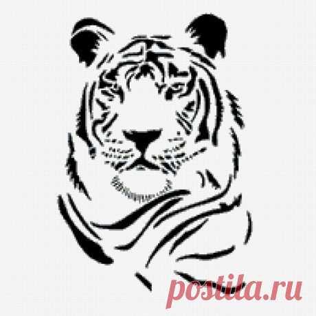 Предпросмотр - тигр - Схемы вышивки - Марго74 - Авторы - Портал «Вышивка крестом»