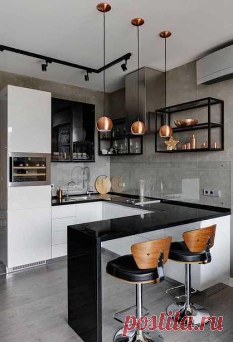 Шикарный дизайн кухни