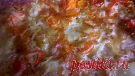 """Картофельная запеканка """"Тортилья"""""""