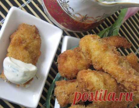 """Куриные пальчики """"МакДональдс отдыхает"""" – кулинарный рецепт"""