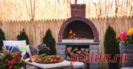 Как построить уличную кирпичную печь для пиццы - Самоделкино - медиаплатформа МирТесен