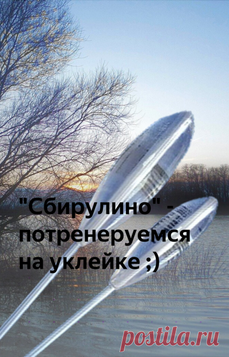 """""""Сбирулино"""" - потренеруемся на уклейке ;)   Рыбалка для людей   Яндекс Дзен"""