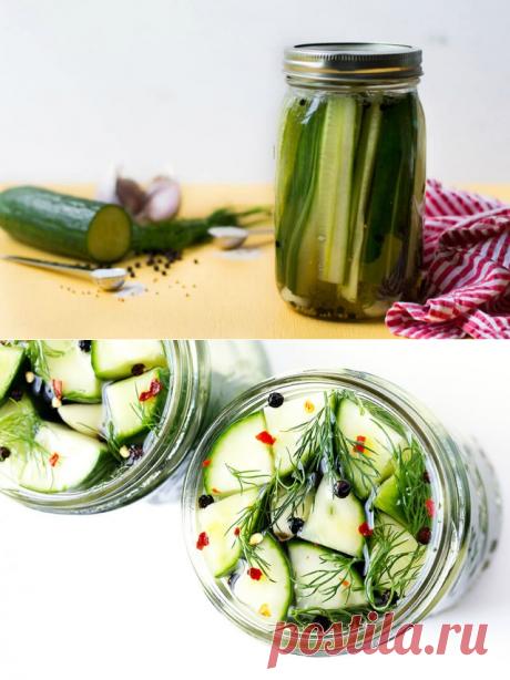 9 рецептов отменных малосольных огурцов | Статьи (Огород.ru)