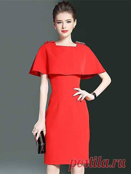Шьём элегантное платье.Размеры 36-56(евро).