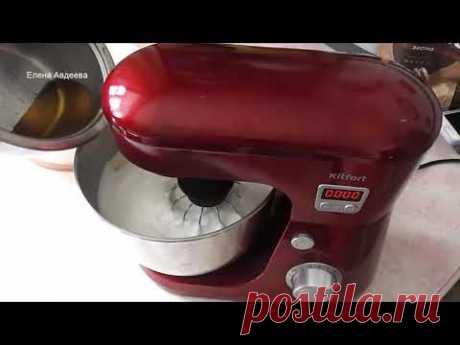 Белково Заварной Крем для оформления торта