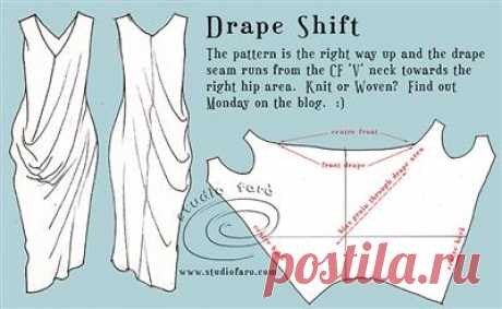 Pattern Puzzle - Drape Shift