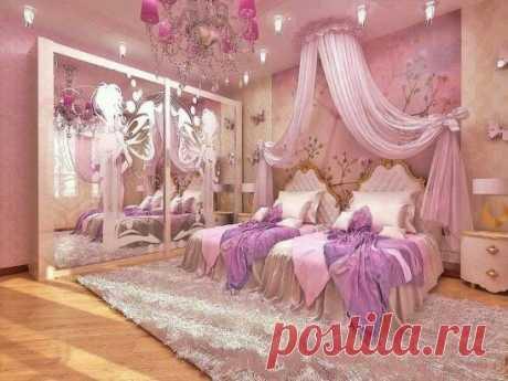 До НЕПРИЛИЧИЯ милые Детские комнаты для девочек-ПРИНЦЕСС!