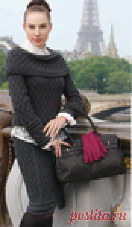 Вяжем оригинальный элегантный костюм