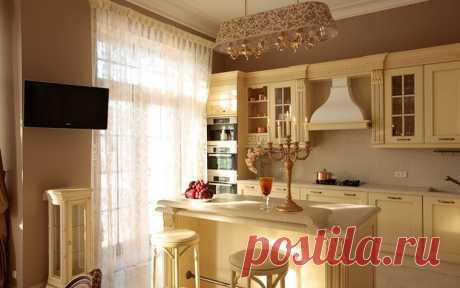 Совмещение кухни и гостиной - Дизайн интерьеров | Идеи вашего дома | Lodgers