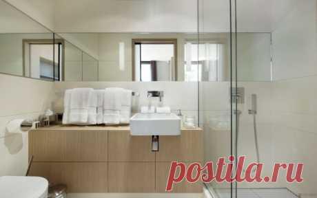 Плитка в интерьере небольшой ванной комнаты | Роскошь и уют