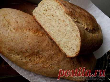 Пшеничный хлеб с отрубями - вкусно и полезно!
