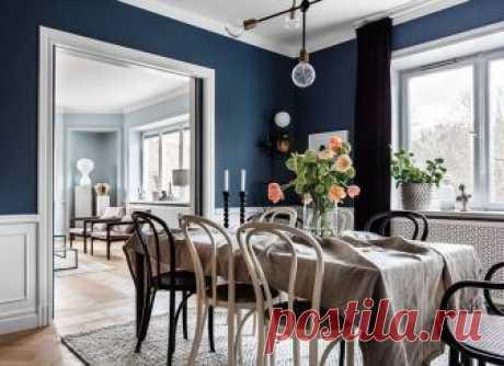 Красивый цвет стен — основа хорошего дизайна В этой шведской квартире дизайнеры очень хорошо поработали с цветом стен — каждая комната имеет своей красивый оттенок, оттого все помещения по-своему уникальны и интересны. К тому же, не обошлось без...