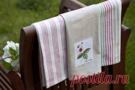 Как легко постирать кухонные полотенца? Лучший способ отстирать даже самые засаленные полотенца