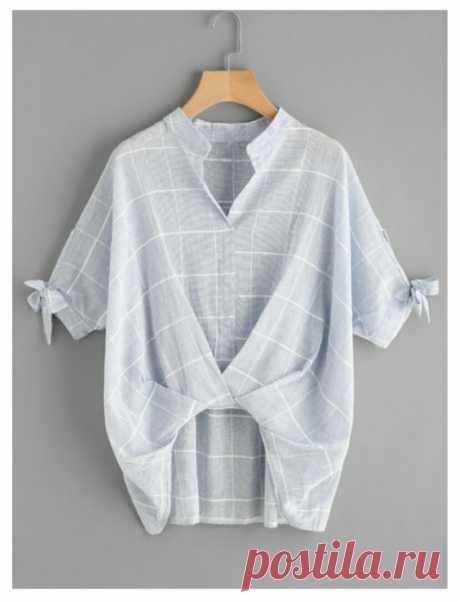 Лёгкая стильная переделка рубашки