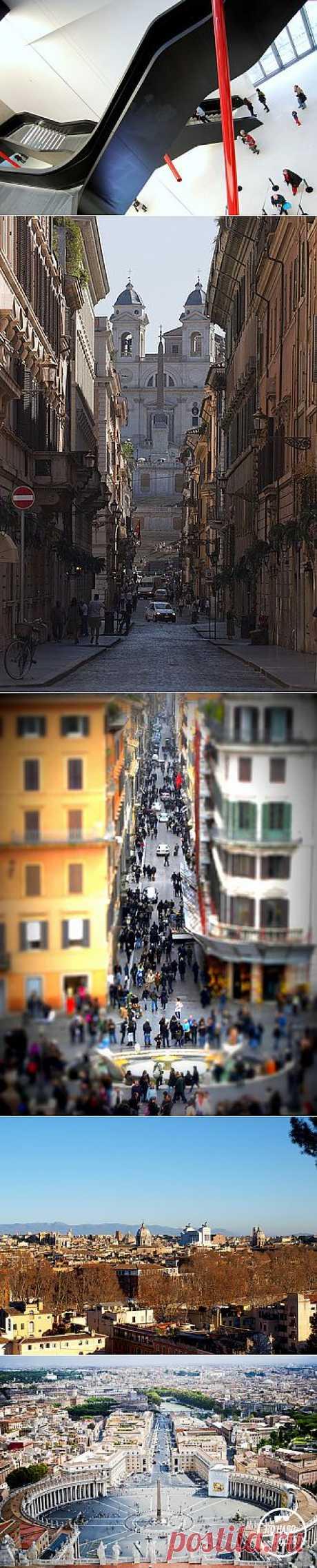 Это надо видеть: секретные места Рима, которые вы не найдете в типичном путеводителе | Очкарик