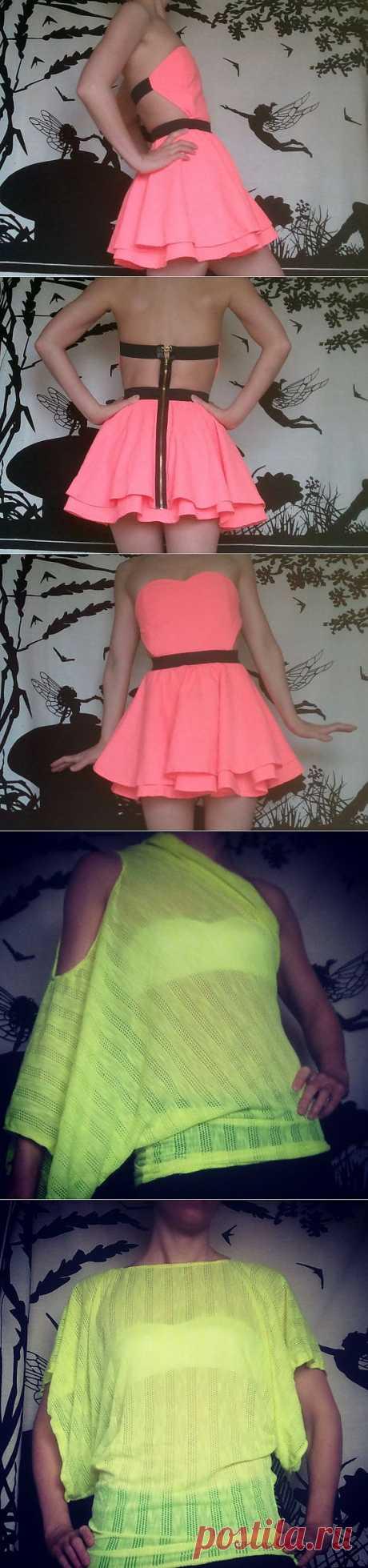 Платье - сердечко + 2 / Простые выкройки / Модный сайт о стильной переделке одежды и интерьера