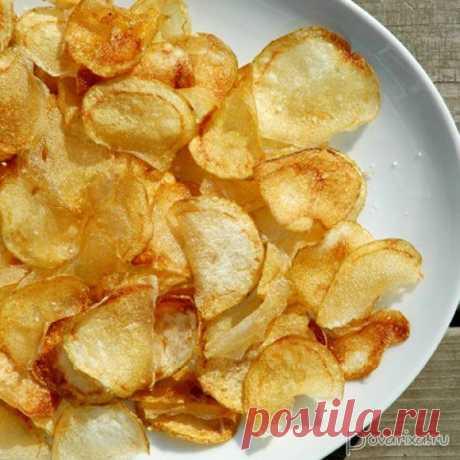 Как сделать чипсы в микроволновке: быстро и вкусно