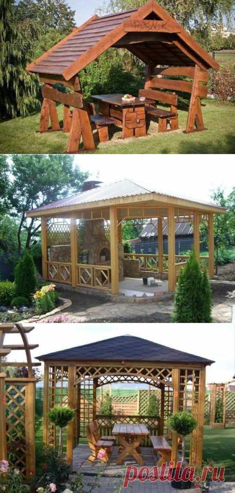 Место для отдыха в саду: 10 идей для садовой беседки.