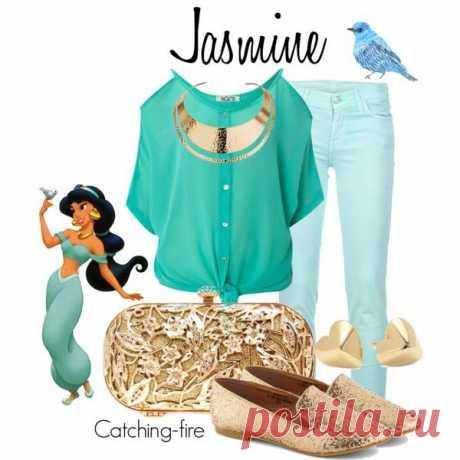 Jasmine - Polyvore