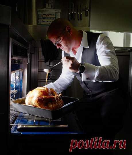 Рецепт жареной индейки Хестона Блюменталя :: Gourmet Traveller