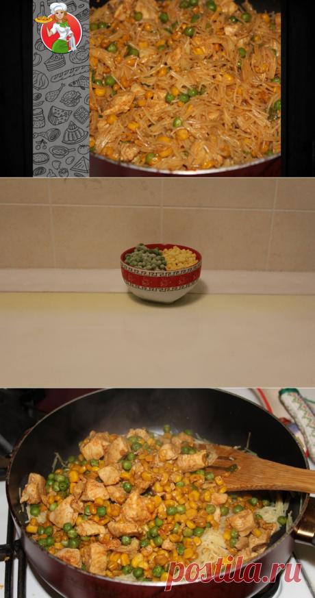 Как за 15 минут превратить обычную вермишель во вкусный и сытный ужин | Рецепты от Джинни Тоник | Яндекс Дзен
