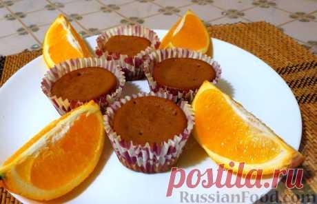 Шоколадно-апельсиновые кексы на сметане Быстрая выпечка к чаю - шоколадно-апельсиновые кексы. Тесто для кексов замешивается на сметане с добавлением сливок. Аромат - словами не передать!Продукты