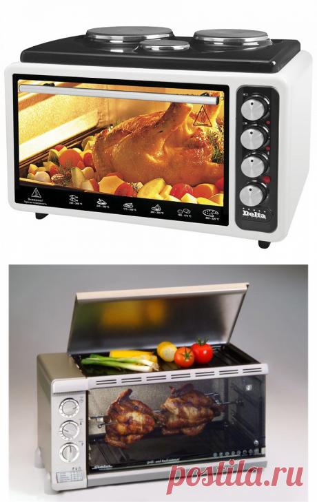 Электрическая мини-духовка - функции, преимущества, как работает