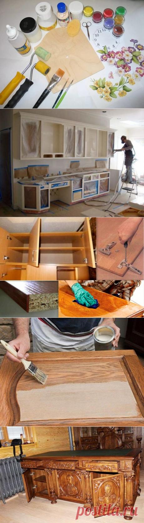Как отреставрировать старую мебель в домашних условиях: идеи, фото