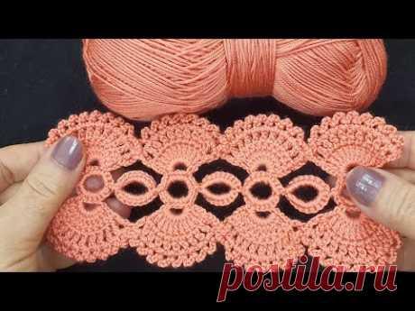 Çok kolay tığ işi örgü model & Very easy crochet knitting model &