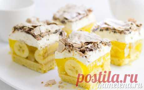 Торт «Банановое чудо»